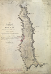 [Plan Of Lundy Island]